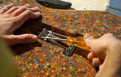 Pencils Guitar