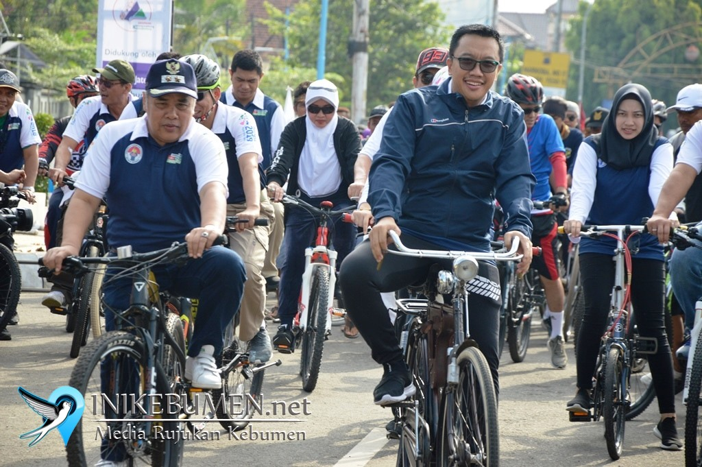 Menpora Minta Pemkab Kebumen Wajibkan ASN Gunakan Sepeda Setiap Senin