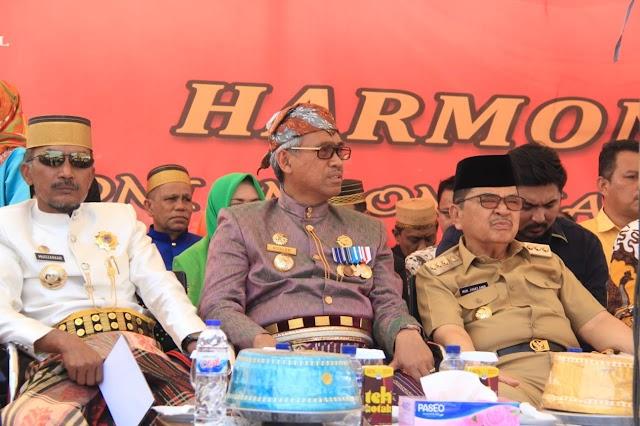 Walikota Palopo H.M Judas Amir Dikukuhkan Sebagai Pembina Wilayah Pelopor Perdamaian