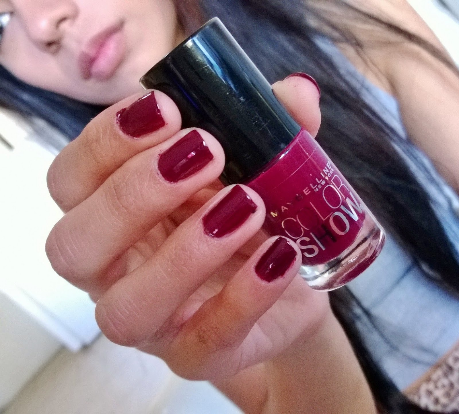 swatch maybelline color show in wine and forever 5 eyeliners and a gloss. Black Bedroom Furniture Sets. Home Design Ideas