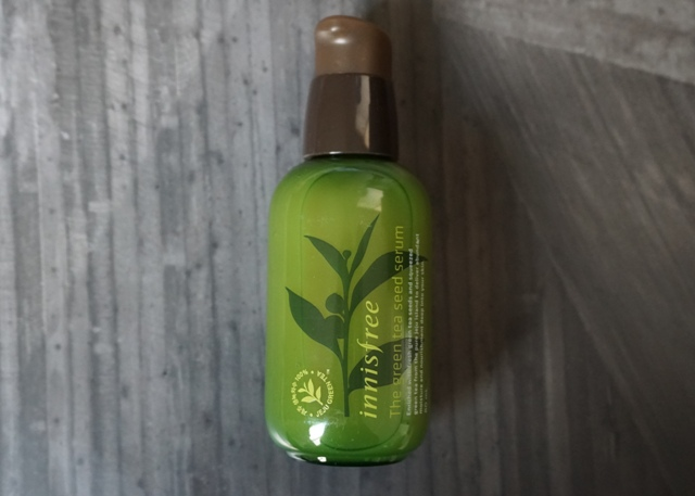 Innisfree The Green Tea Seed Serum (bellanoirbeauty.com)