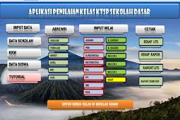Aplikasi Administrasi Penilaian Kelas KTSP