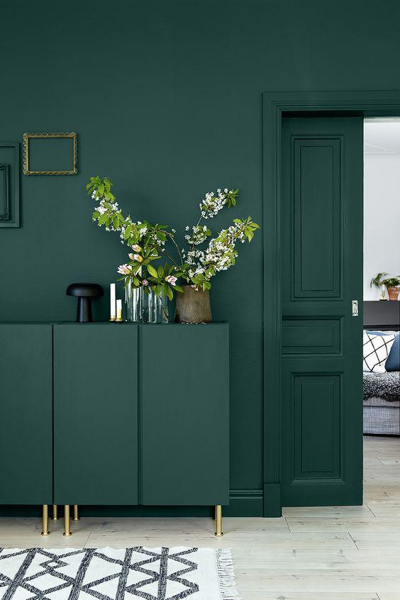 Resultado de imagem para móveis verde