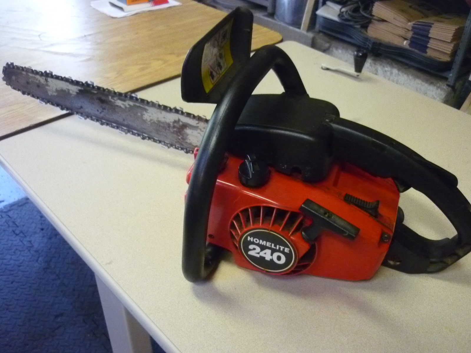 Vintage Chainsaw Collection Homelite 240