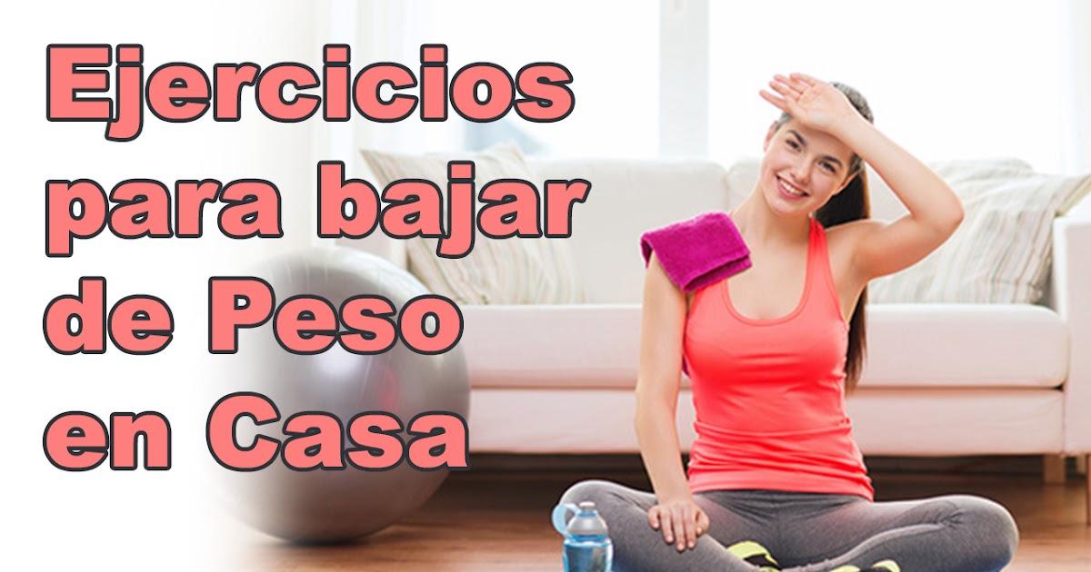 Bajar de peso rapido ejercicios para