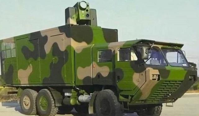 Η Κίνα παρουσίασε το συγκρότημα λέιζερ μάχης.