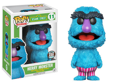 Specialty Series Exclusive Sesame Street Herry Monster Pop! Vinyl Figure by Funko