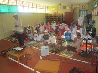 Pelaksanaan Kegiatan Ramadhan Praktek Sholat Tahun Pelajaran 2015/2016