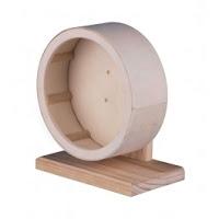 Trixie Roue d'exercice en bois 15 cm