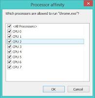 Processor Affinity