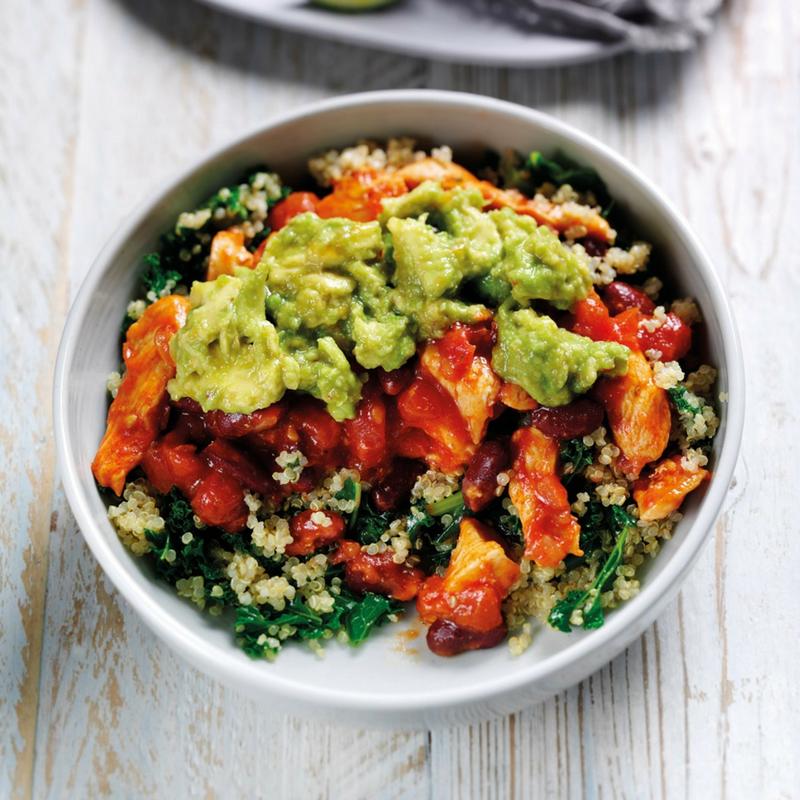 Mexican Quinoa & Kale Bowl...