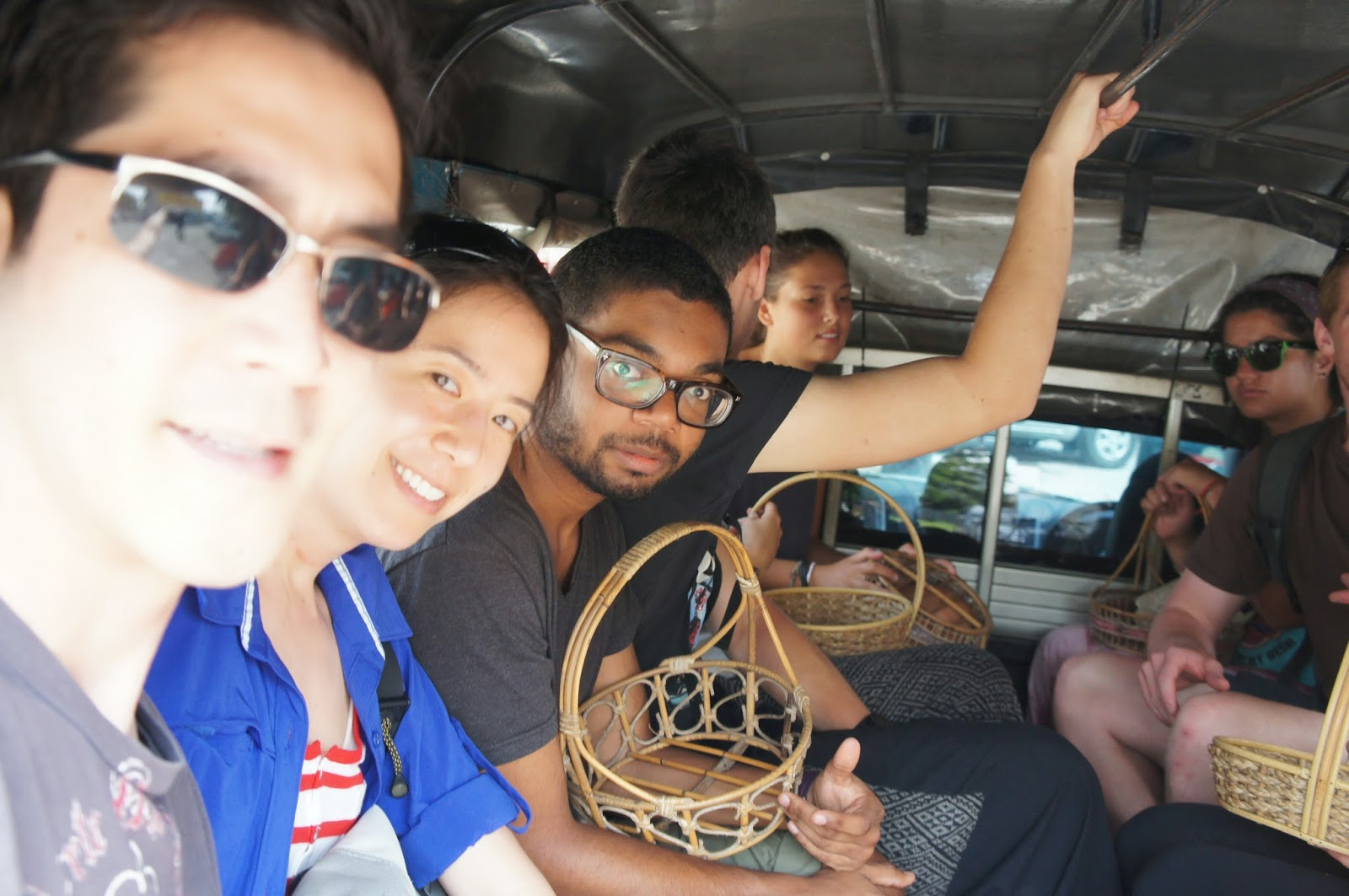 Chiang Mai - Heading to the market to shop for ingredients