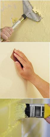 Foto de impermeabilização de parede