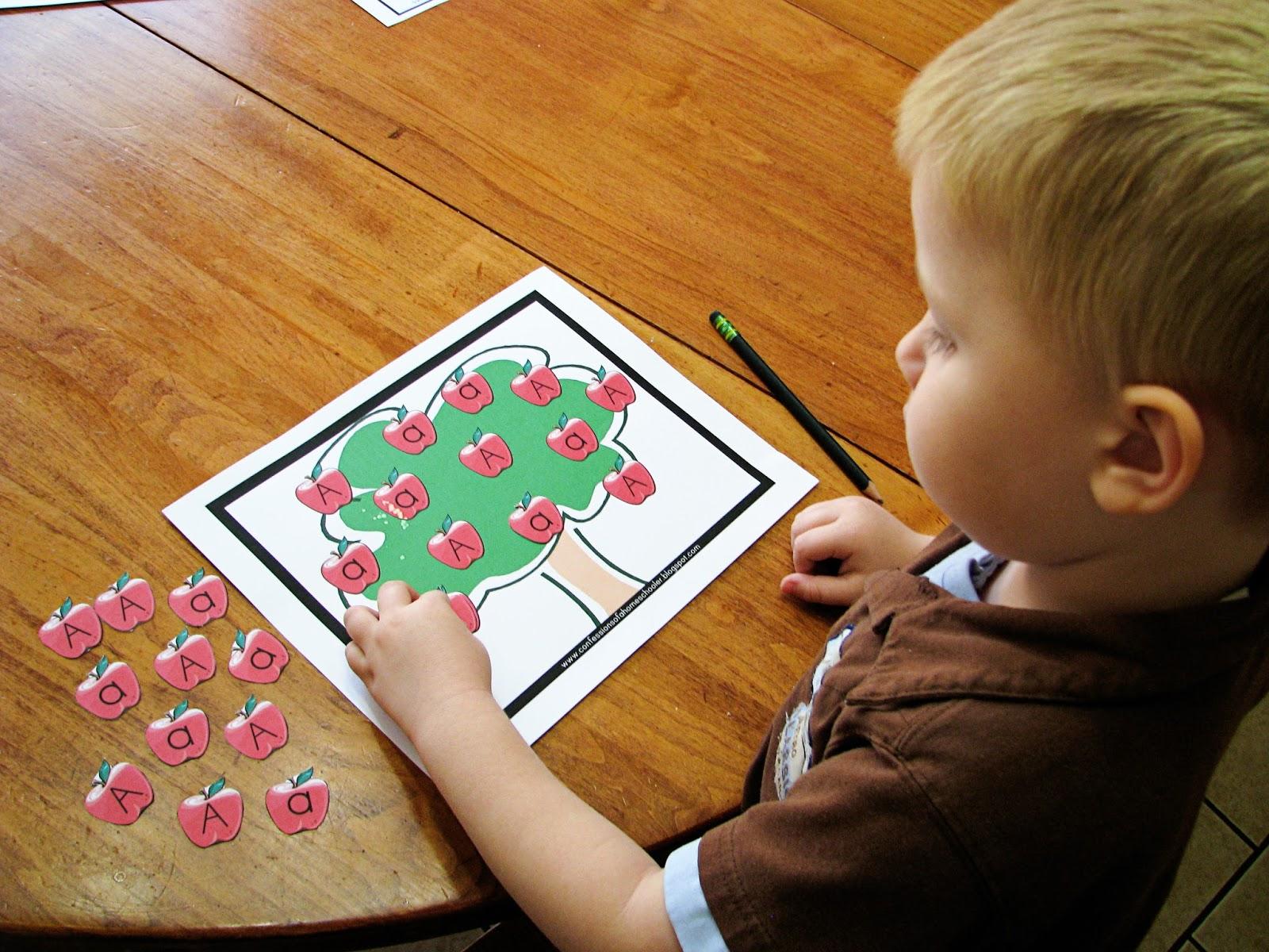 Mommy S Little Helper Apple Preschool Theme