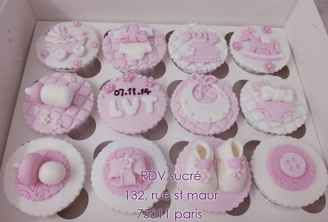 Lorraine Delices Cupcakes Et G Teau D 39 Anniversaire Pour Fille 1 An