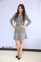 Actress Chandini Chowdary Pos in Short Dress at Howrah Bridge Movie Press Meet  0090.JPG