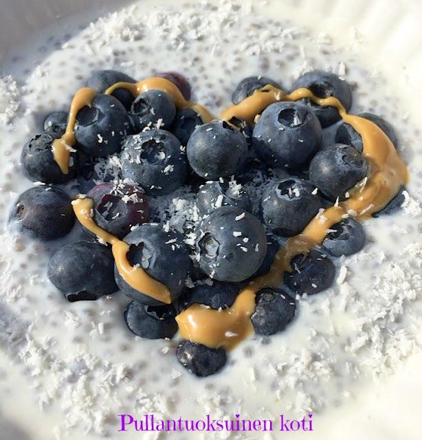 #chia #chiaseed #puuro #tuorepuuro #porridge #healthylifestyle #terveellinenaamiainen #healtybreakfast