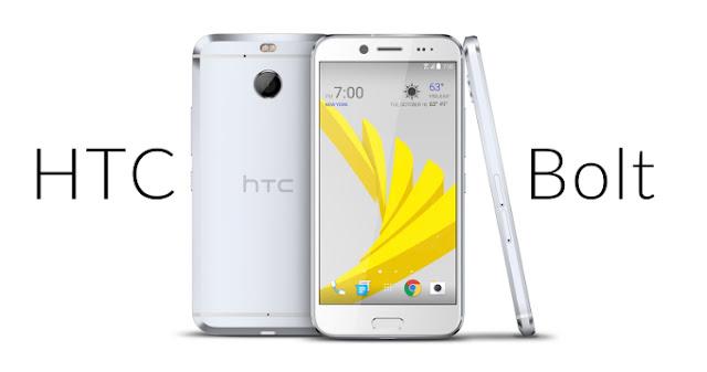 HTC Bolt Full Spesifikasi dan Harga Terbaru, Smartphone nougat usung RAM 3GB Tahan air