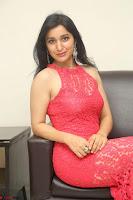 Sakshi Kakkar in Red Legsplit Sleeveless Gown at Dare movie Press meet ~  Exclusive 063.JPG