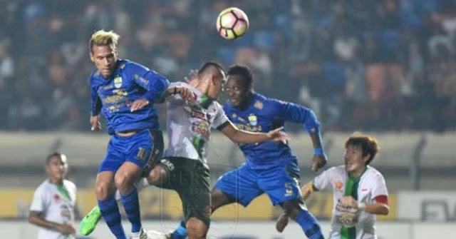 Video Cuplikan Gol Persib Bandung vs PS TNI 3-1 Liga 1 Sabtu 5/8/2017