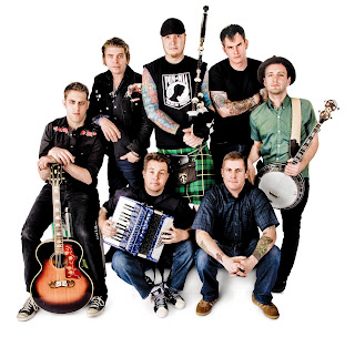 Photo des membres de Dropkick Murphys