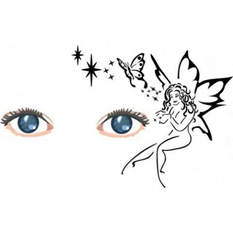 Fairy Face Paint Stencils