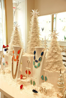 Create creative Ornaments jewelry displays from Nile Corp.