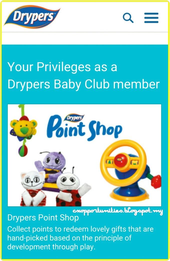 Drypers : Jom Claim Hadiah!