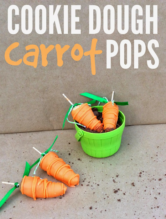 Cookie Dough Carrot Pops
