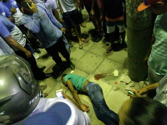 Adolescente é executado a tiros na Praça Paulo Paranhos, em Palmares