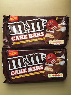 M&M's Cake Bars Review