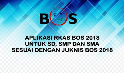 Aplikasi RKAS 2018 SD