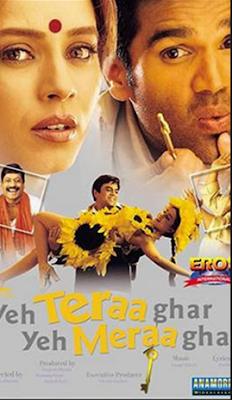 Yeh Teraa Ghar Yeh Meraa Ghar 2001 Hindi 720p DVDRip 800Mb HEVC x265