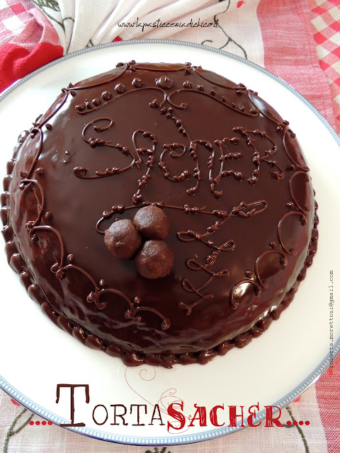 Torta Sacher - www.lapasticceriadichico.it