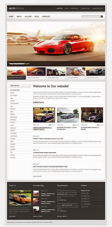 20 Premium WordPress Car Themes