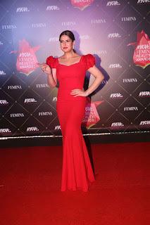 Zarine Khan At Nykaa Femina Beauty Awards 2019