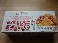 Tesco everyday value pies