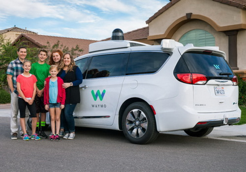Tinuku Alphabet's Waymo roll out robotaxis without human