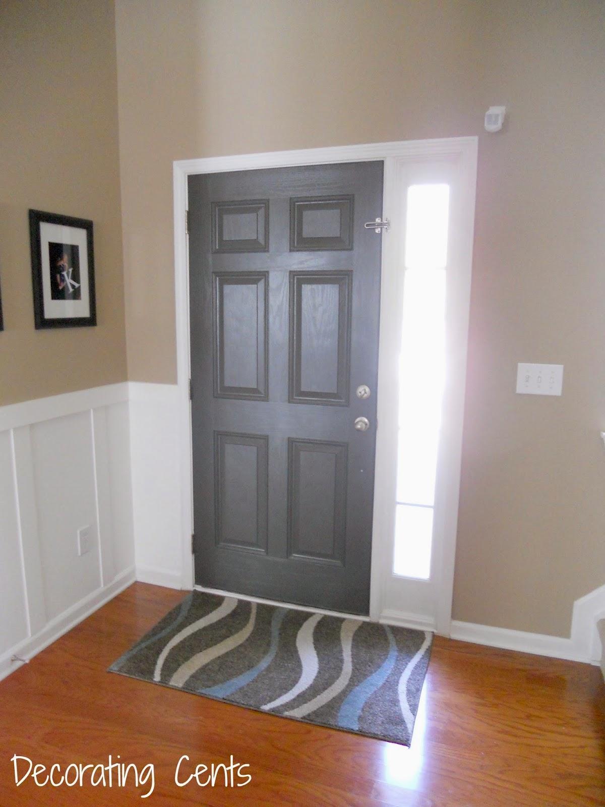 Gray Front Door