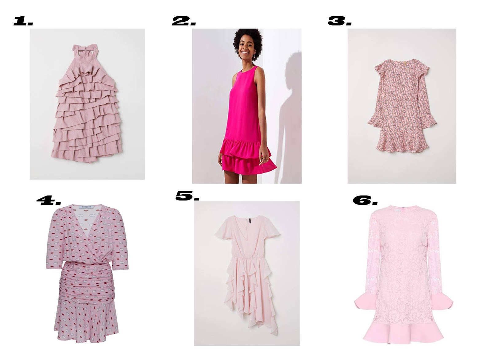 six-pink-must-have-flounced-dresses