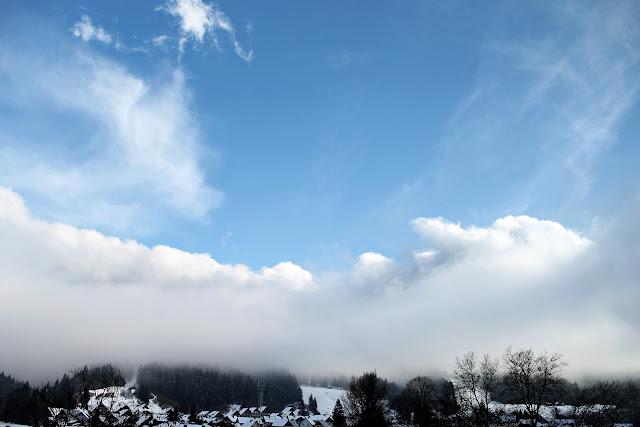 sky scape slovenia