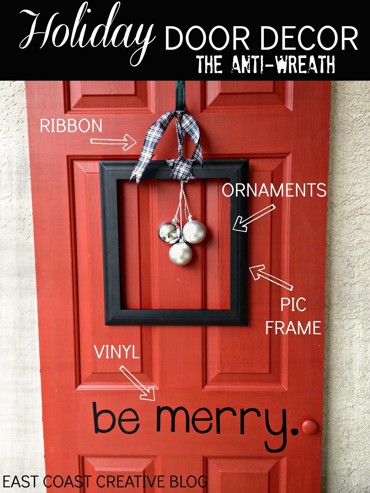 Anti-Wreath #2 {Seasonal Front Door Decor}