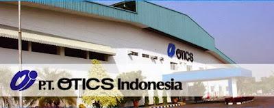 Lowongan Kerja PT OTICS INDONESIA