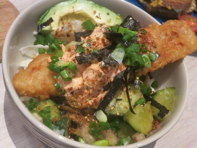 Tempura Fish Kimchi