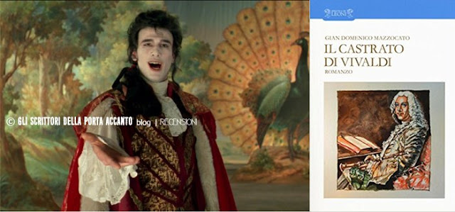 Il castrato di Vivaldi, di Gian Domenico Mazzocato, recensione - Farinelli - Copertina libro