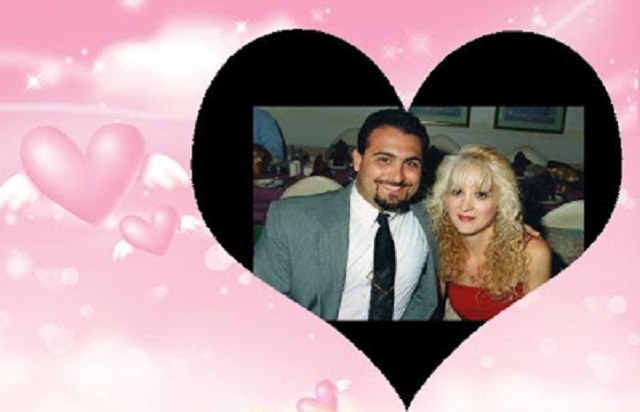 my husband and I for Valentines Day 2010