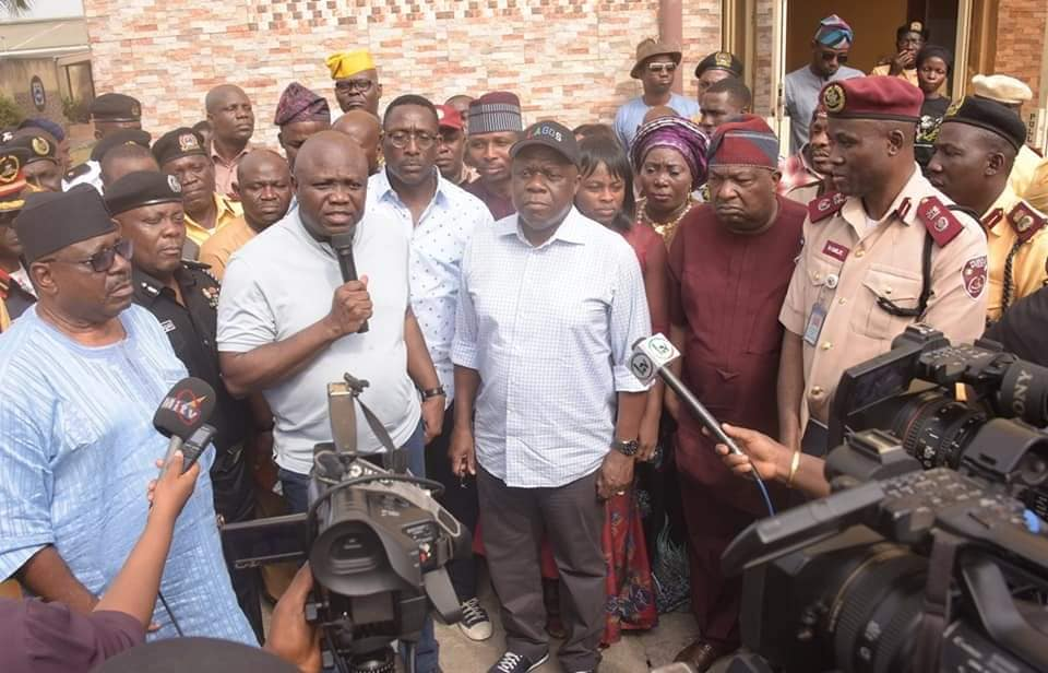 Ambode Reads Riot Act to Traffic Offenders, Orders Strict Enforcement