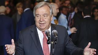 الأمين العام للأمم المتحدة يعرب عن ارتياحه لاستئناف عقد قمة بين الولايات المتحدة وكوريا الشمالية
