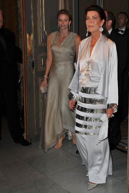 Princesas Charlene y Carolina