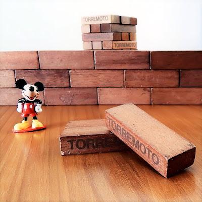 O ratinho diante de blocos de madeira: um recurso lúdico - e concreto -  para compreender um assunto deveras abstrato.